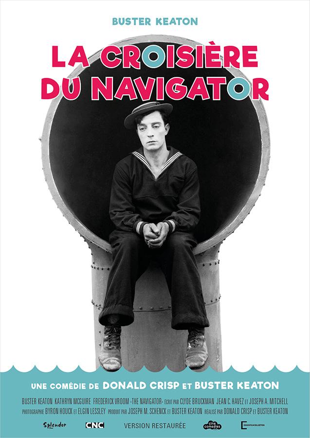 La Croisière du Navigator (The Navigator) de Donald Crisp et Buster Keaton (1924)