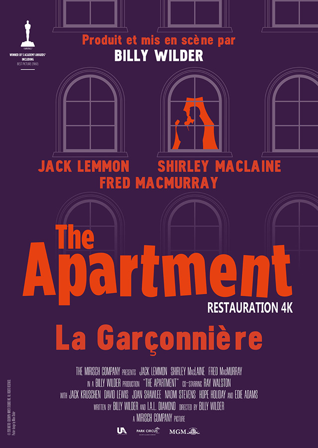 La Garçonnière (The Apartment) de Billy Wilder (1960)