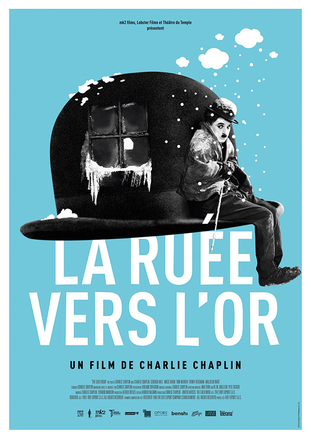 La Ruée vers l'or (The Gold Rush) de Charlie Chaplin (1925)