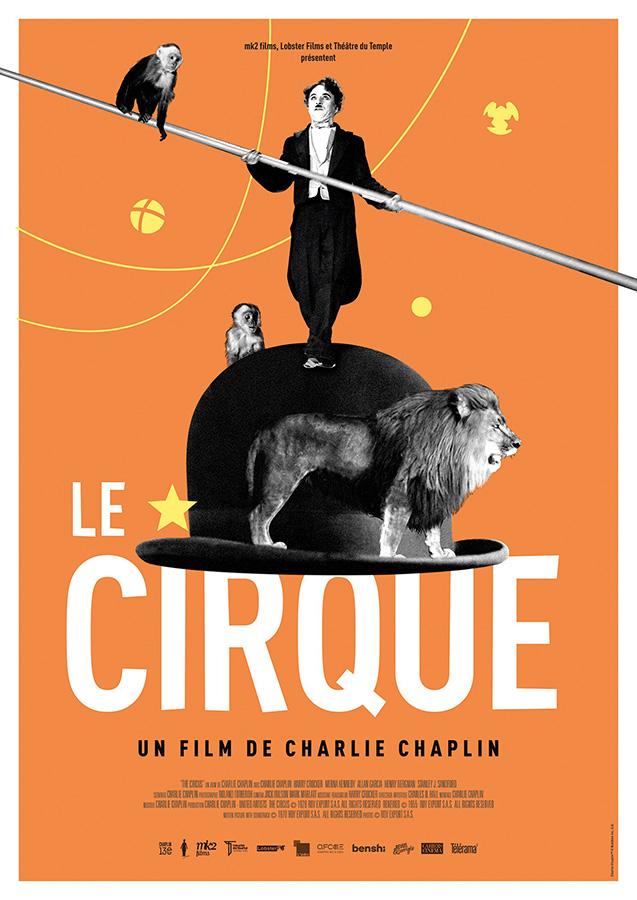 Le Cirque (The Circus) de Charlie Chaplin (1928)