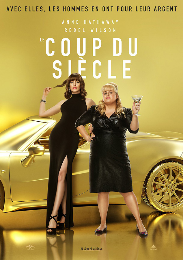 Le Coup du siècle (The Hustle) de Chris Addison et Anne Dudley (2019)