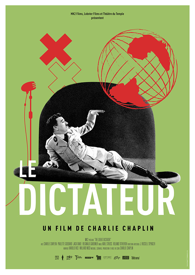 Le Dictateur (The Great Dictator) de Charlie Chaplin (1940)