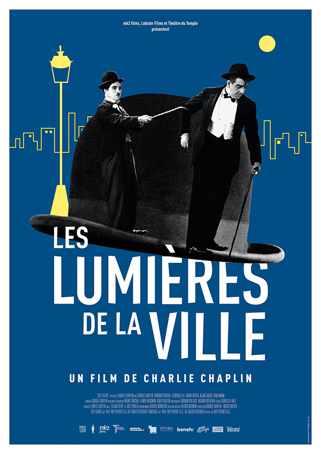 Les Lumières de la ville (City Lights) de Charlie Chaplin (1931)