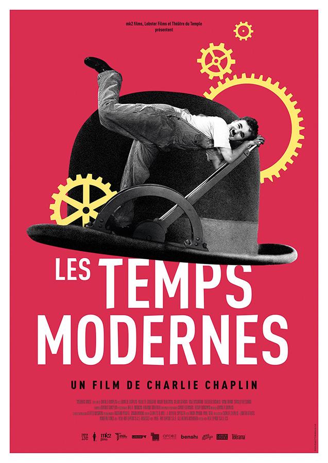 Les Temps modernes (Modern Times) de Charlie Chaplin (1936)