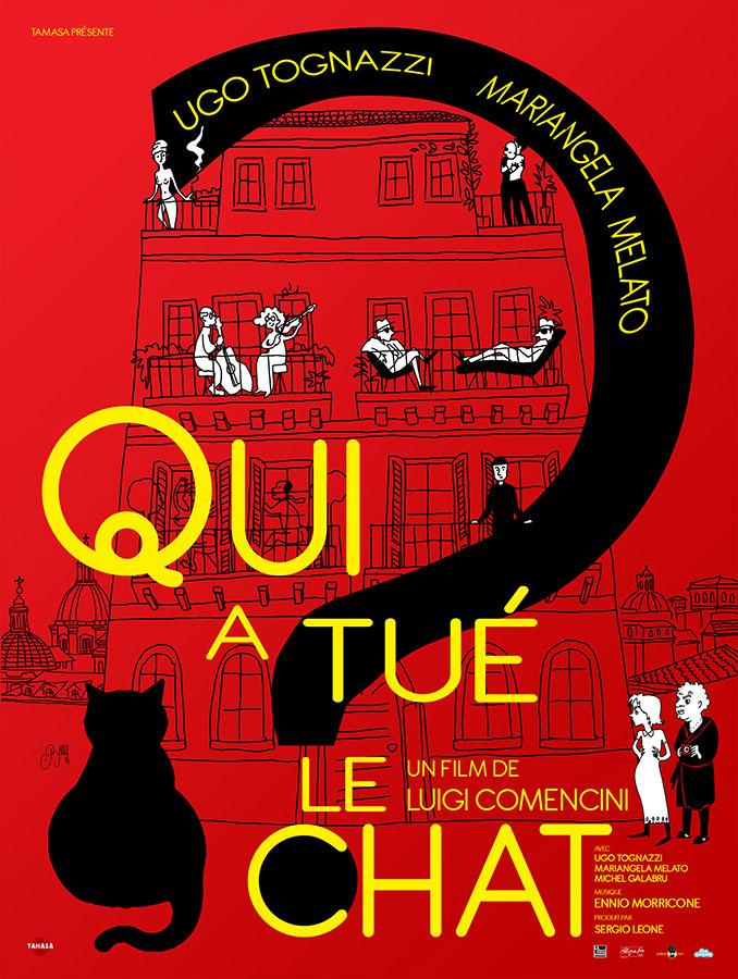 Qui a tué le chat ? (Il gatto) de Luigi Comencini (1977)