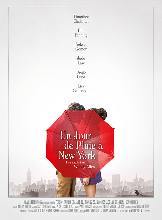 Un jour de pluie à New York (A Rainy Day in New York) de Woody Allen (2019)