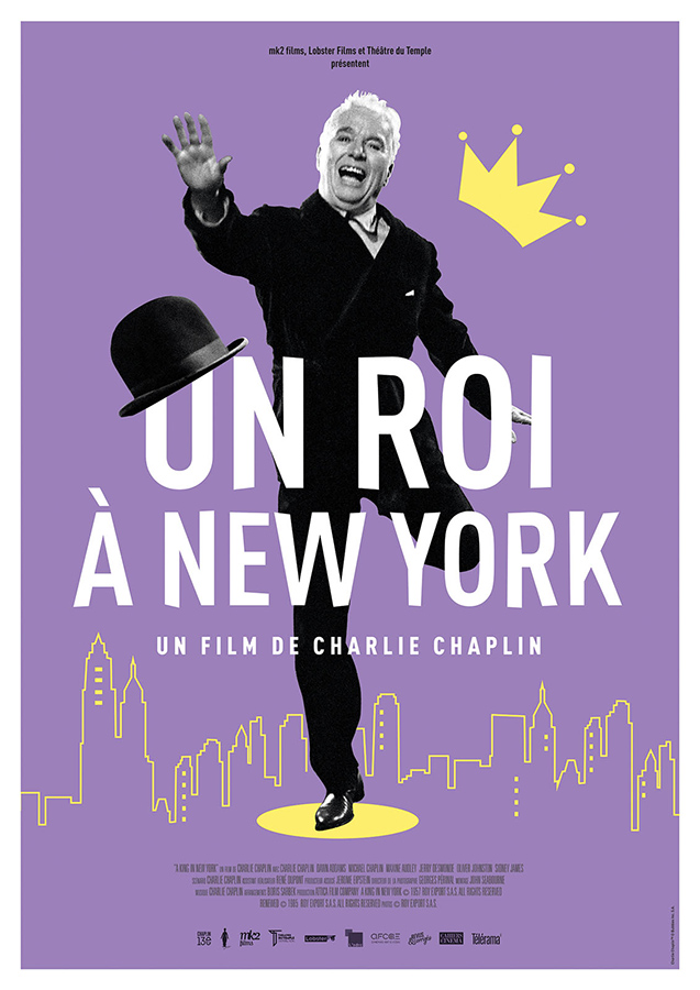 Un roi à New York (A King in New York) de Charlie Chaplin (1957)