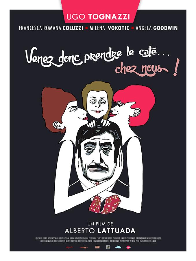 Venez donc prendre le café… chez nous ! (Venga a prendere il caffe da noi) de Alberto Lattuada (1970)