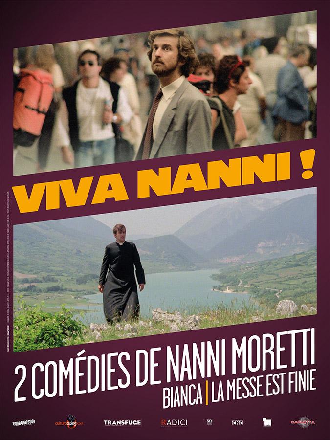 Viva Nanni ! 2 comédies de Nanni Moretti : Bianca (1984) / La Messe est finie (1985)