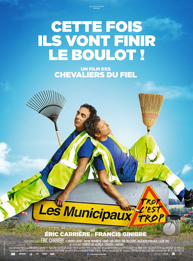Les Municipaux, trop c'est trop ! (Francis Ginibre et Eric Carrière, 2019)