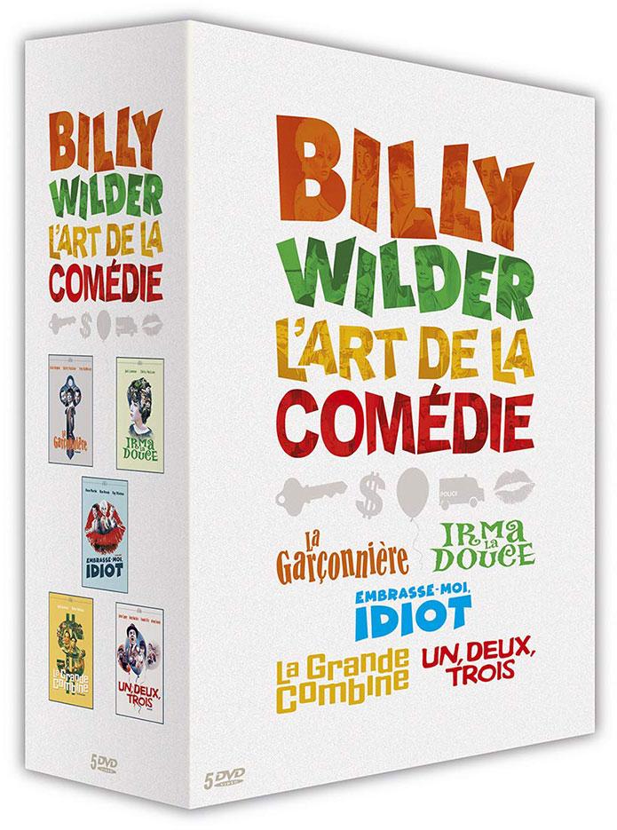 Billy Wilder, l'art de la comédie : La Garçonnière - Irma la douce - Embrasse-moi, idiot ! - La Grande combine - Un, deux, trois - DVD