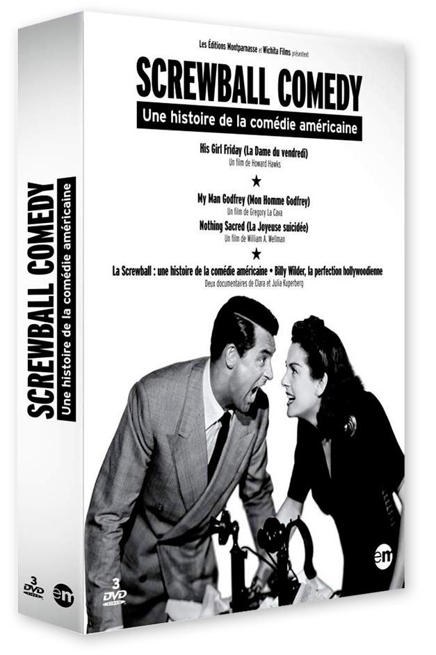 Screwball Comedy, une histoire de la comédie américaine - Coffret 3 DVD