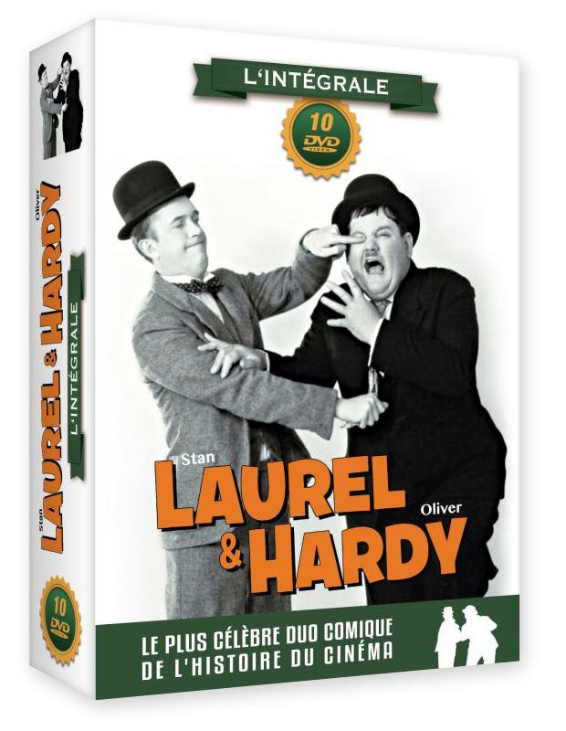 Laurel et Hardy : l'intégrale - coffret 10 DVD