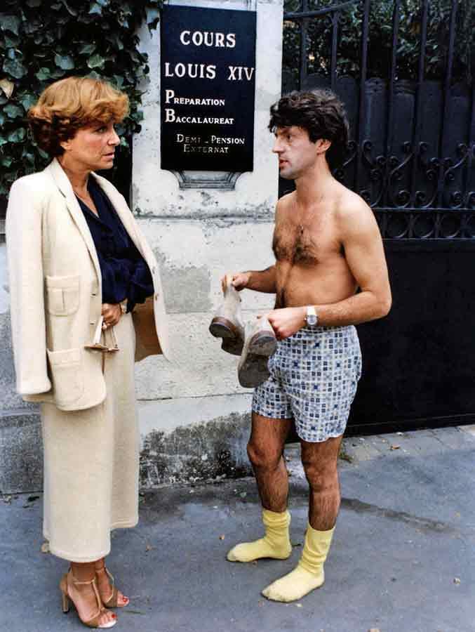 Maria Pacôme et Daniel Auteuil dans Les Sous-doués (Claude Zidi, 1980)