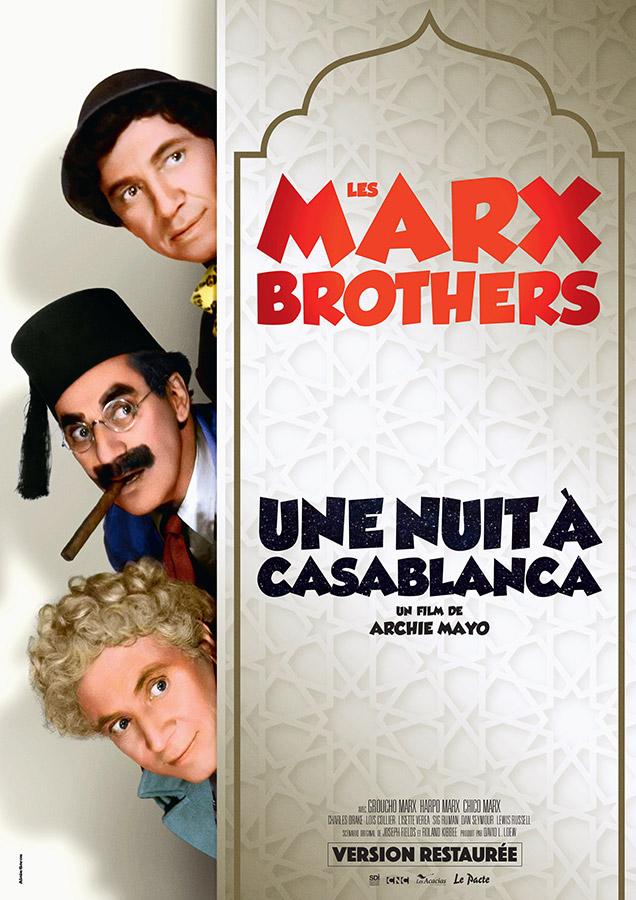 Une Nuit à Casablanca (A Night in Casablanca) de Archie Mayo (1946)