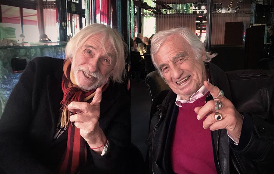Pierre Richard et Jean-Paul Belmondo le 21 janvier 2019 - © Jérémie Imbert