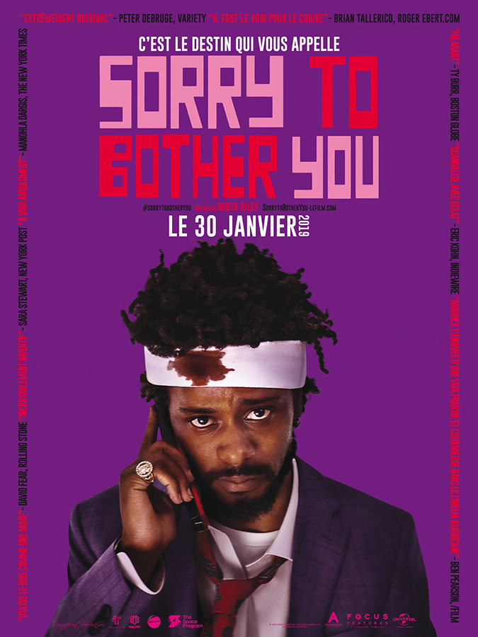 Sorry To Bother You (Boots Riley, 2019)