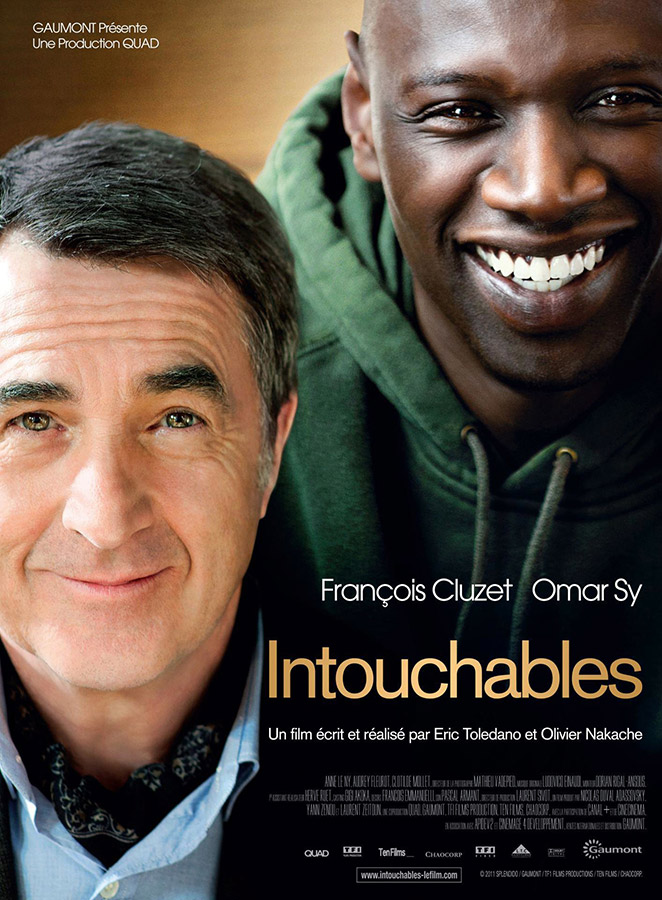 Intouchables (Eric Toledano et Olivier Nakache, 2011)