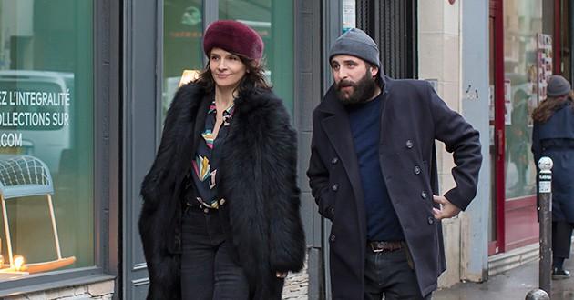 Box-office français du 16 au 22 janvier 2019 - Juliette Binoche et Vincent Macaigne dans Doubles vies (Olivier Assayas, 2019)