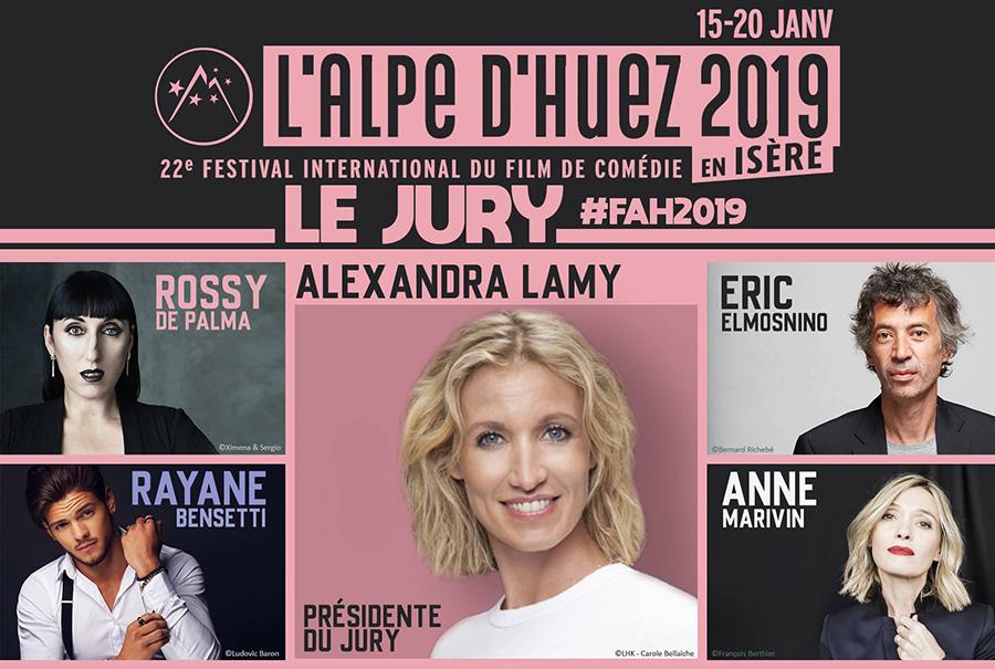 Jury du 22ème Festival International du Film de Comédie de l'Alpe d'Huez