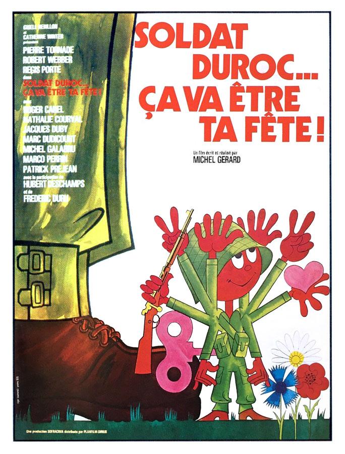 Soldat Duroc… ça va être ta fête ! (Michel Gérard, 1975)