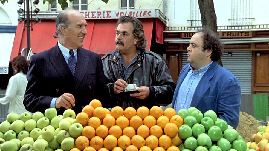 Michel Piccoli, Didier Pain et Jacques Villeret dans Le Bal des casse-pieds (Yves Robert, 1992)