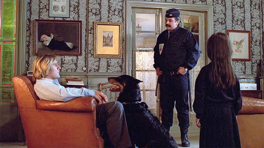 Gérard Depardieu, Didier Pain et Anaïs Bret dans Les Fugitifs (Francis Veber, 1986)