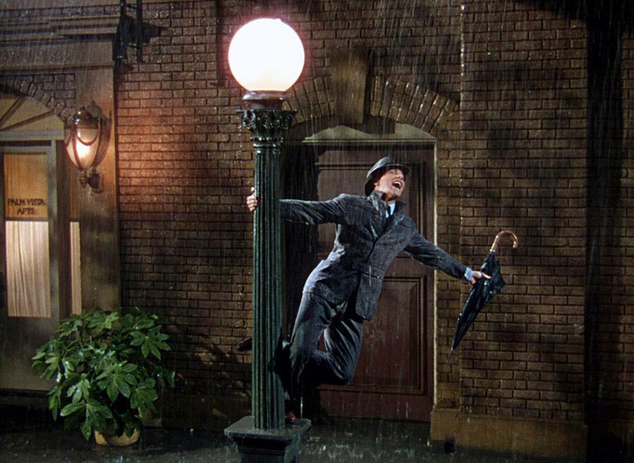 Gene Kelly dans Chantons sous la pluie (Singin' in the Rain) de Stanley Donen et Gene Kelly (1952)