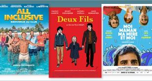 sorties Comédie du 13 février 2019 : All Inclusive, Deux fils, Moi, Maman, ma mère et moi