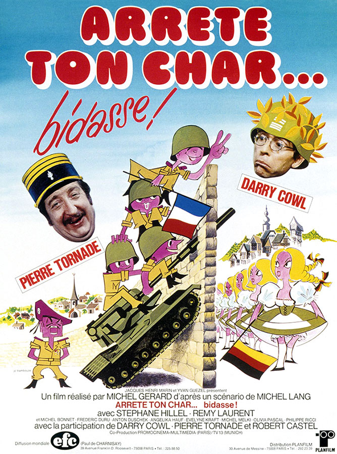 Arrête ton char… bidasse ! (Michel Gérard, 1977)