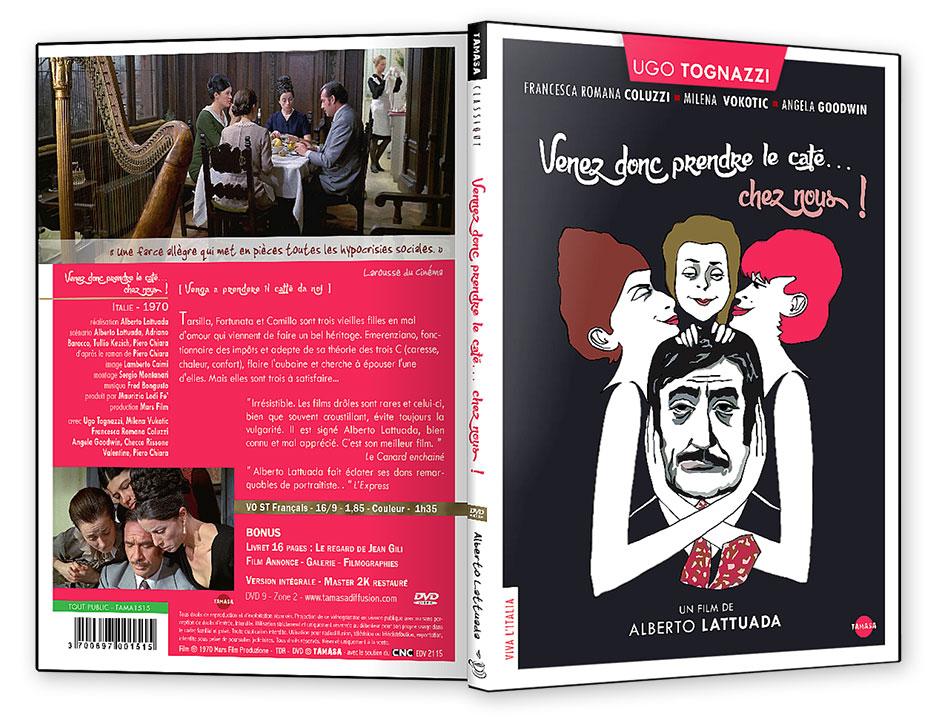 DVD de Venez donc prendre le café chez nous ! (Alberto Lattuada, 1970) - DVD