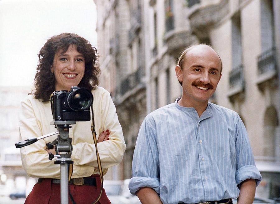 Anémone et Michel Blanc dans Ma femme s'appelle reviens (Patrice Leconte, 1982)