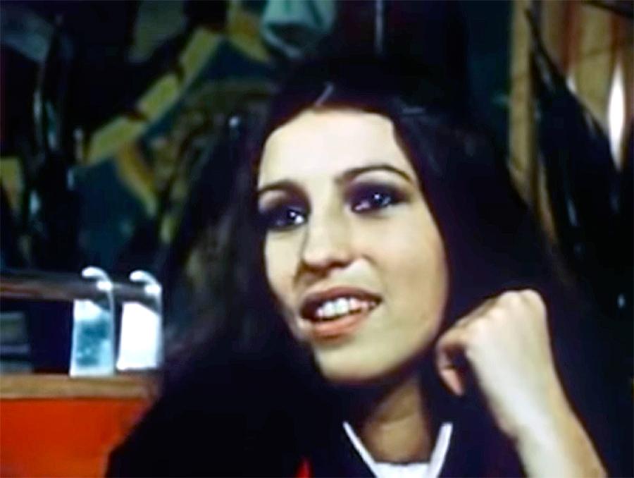 Anne Bourguignon dans Anémone (Philippe Garrel, 1968)