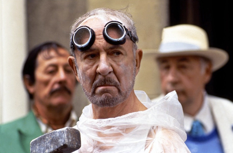Jean Rochefort, Jean-Pierre Marielle et Philippe Noiret dans Les Grands Ducs (Patrice Leconte, 1996) - DR