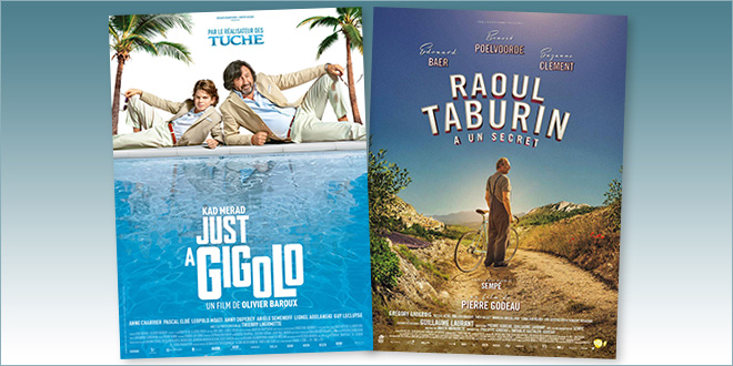 sorties Comédie du 17 avril 2019 : Just a gigolo, Raoul Taburin a un secret