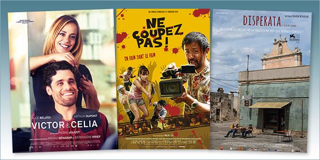 sorties Comédie du 24 avril 2019 : Victor et Célia, Ne coupez pas ! (Kamera o tomeru na !), Disperata (La vita in comune)