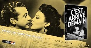Jeu-concours combo DVD/Blu-ray de C'est arrivé demain