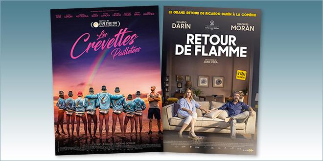 sorties Comédie du 8 mai 2019 : Les Crevettes pailletées, Retour de flamme (El Amor Menos Pensado)
