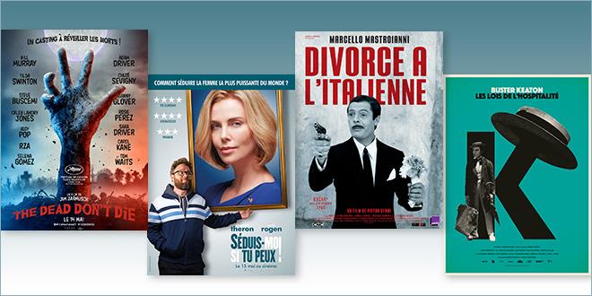 Sorties Comédie du 15 mai 2019 : The Dead Don't Die, Séduis-moi si tu peux !, Les Lois de l'hospitalité (1923), Divorce à l'italienne (1961)