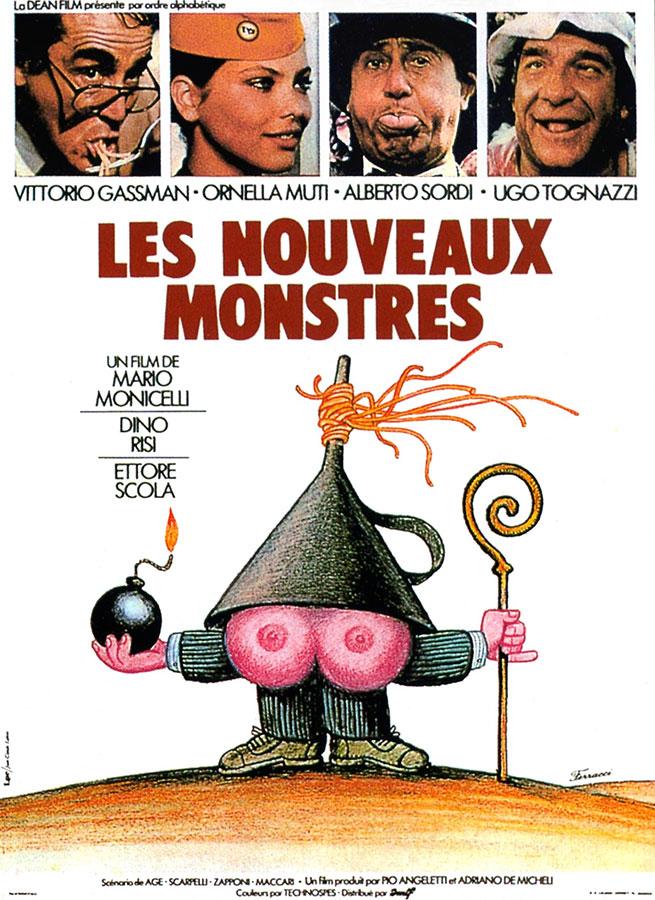 Les Nouveaux monstres (I nuovi mostri) de Mario Monicelli, Dino Risi et Ettore Scola (1977)
