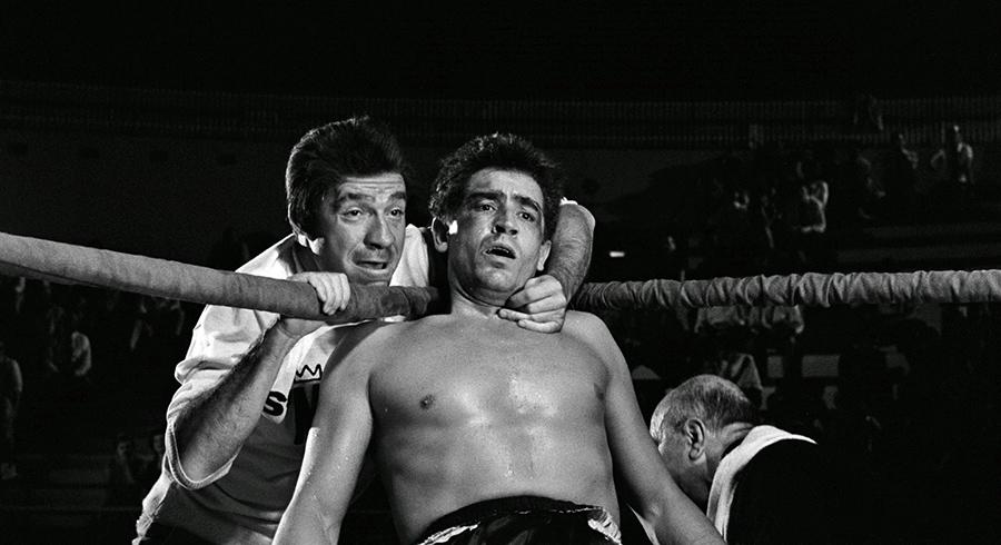 Ugo Tognazzi et Vittorio Gassman dans Le Noble Art (Les Monstres de Dino Risi) - © Splendor Films