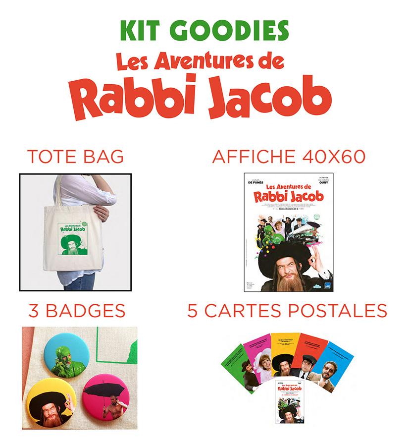 Goodies Les Aventures de Rabbi Jacob - Carlotta Films