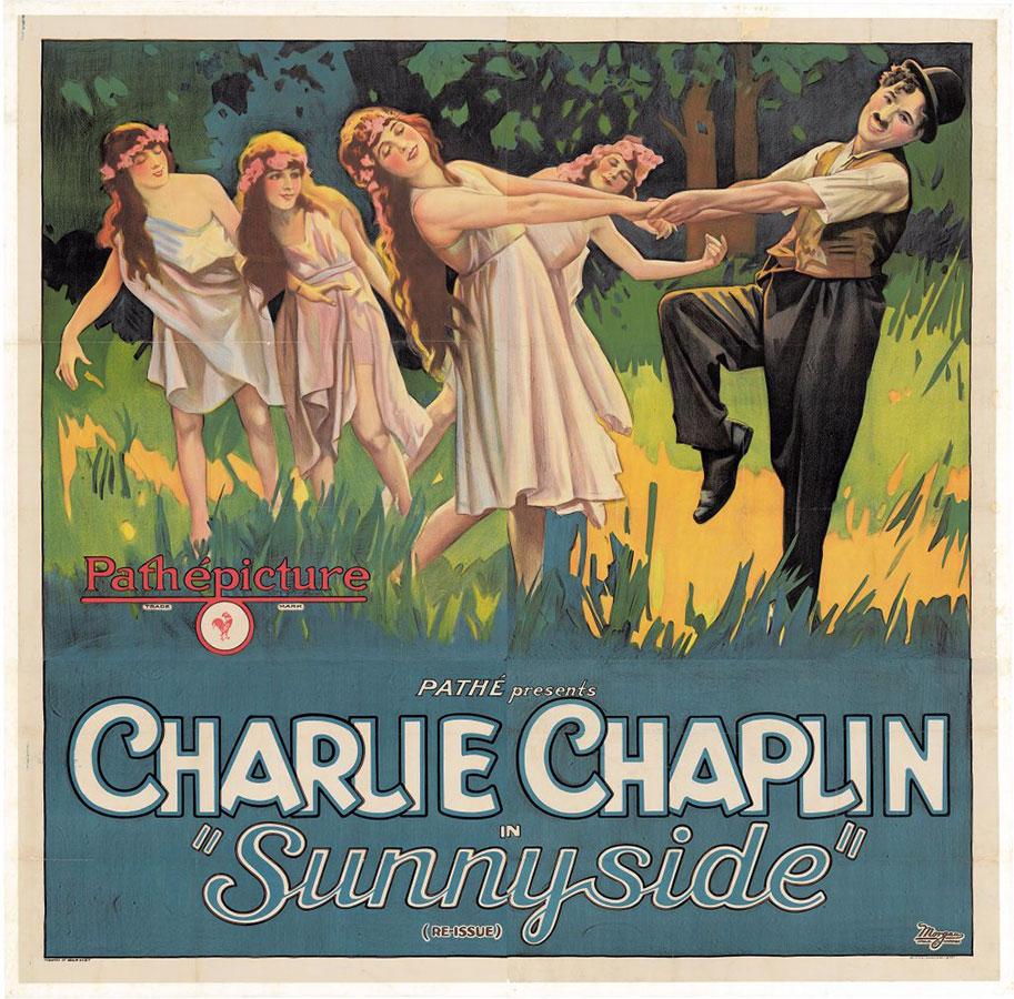 Sunnyside (Une idylle aux champs) de Charlie Chaplin (1919)