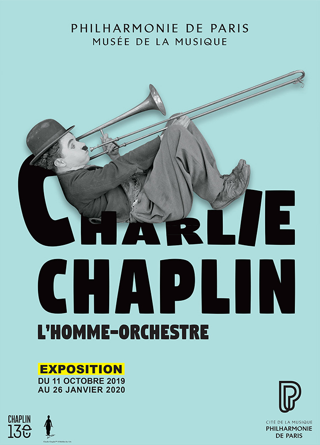 Charlie Chaplin l'homme-orchestre à la Philharmonie de Paris