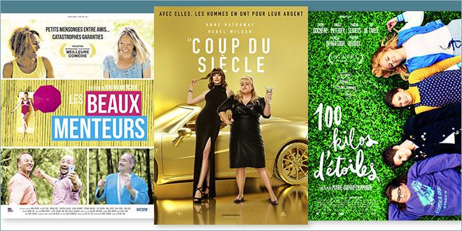 sorties Comédie du 17 juillet 2019 : Le Coup du siècle (The Hustle), Les Beaux menteurs, 100 kilos d'étoiles