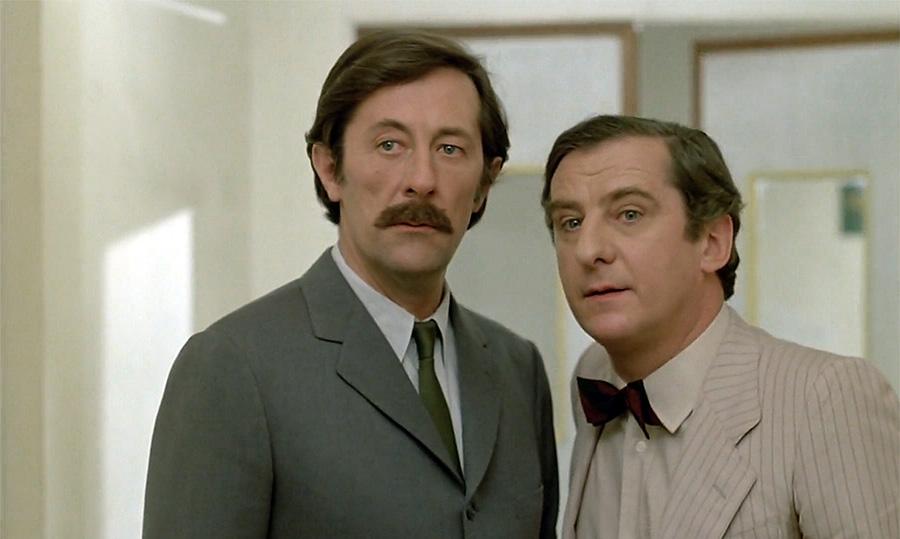 Jean Rochefort et Michel Aumont dans Courage fuyons (Yves Robert, 1979) - © Gaumont