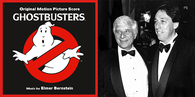 Ghostbusters : Original Motion Picture Score by Elmer Bernstein - © The Bernstein Family Trust
