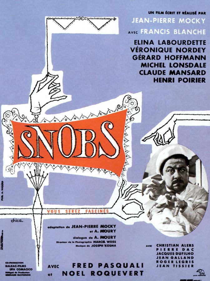 Snobs (Jean-Pierre Mocky, 1962)