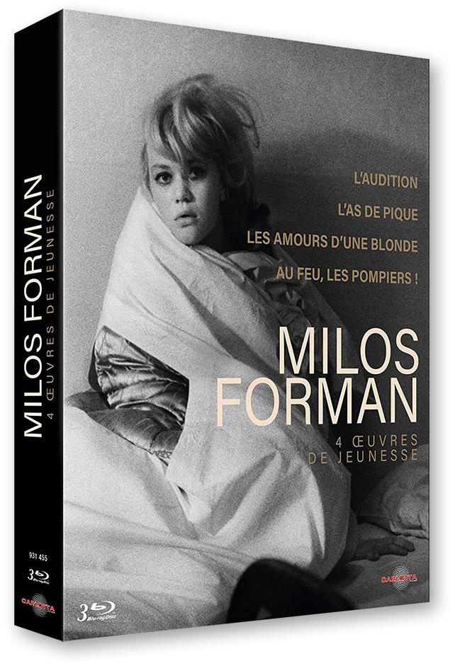 Coffret Milos Forman, 4 œuvres de jeunesse (Carlotta Films) - Blu-ray