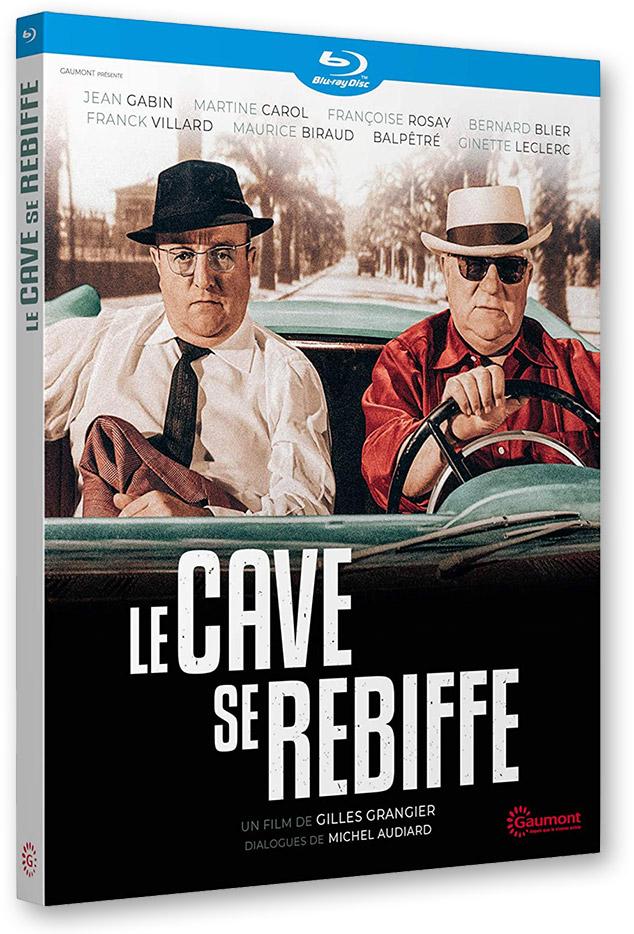 Blu-ray - Le Cave se rebiffe (1961) de Gilles Grangier (Gaumont)